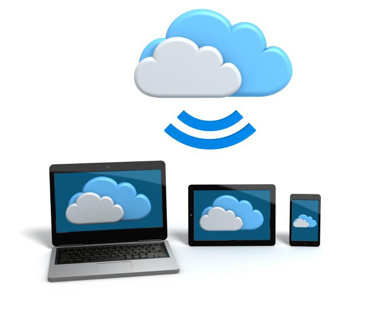 grazie alla tecnlogia cloud il sistema è fruibile da tutti i device connessi alla rete